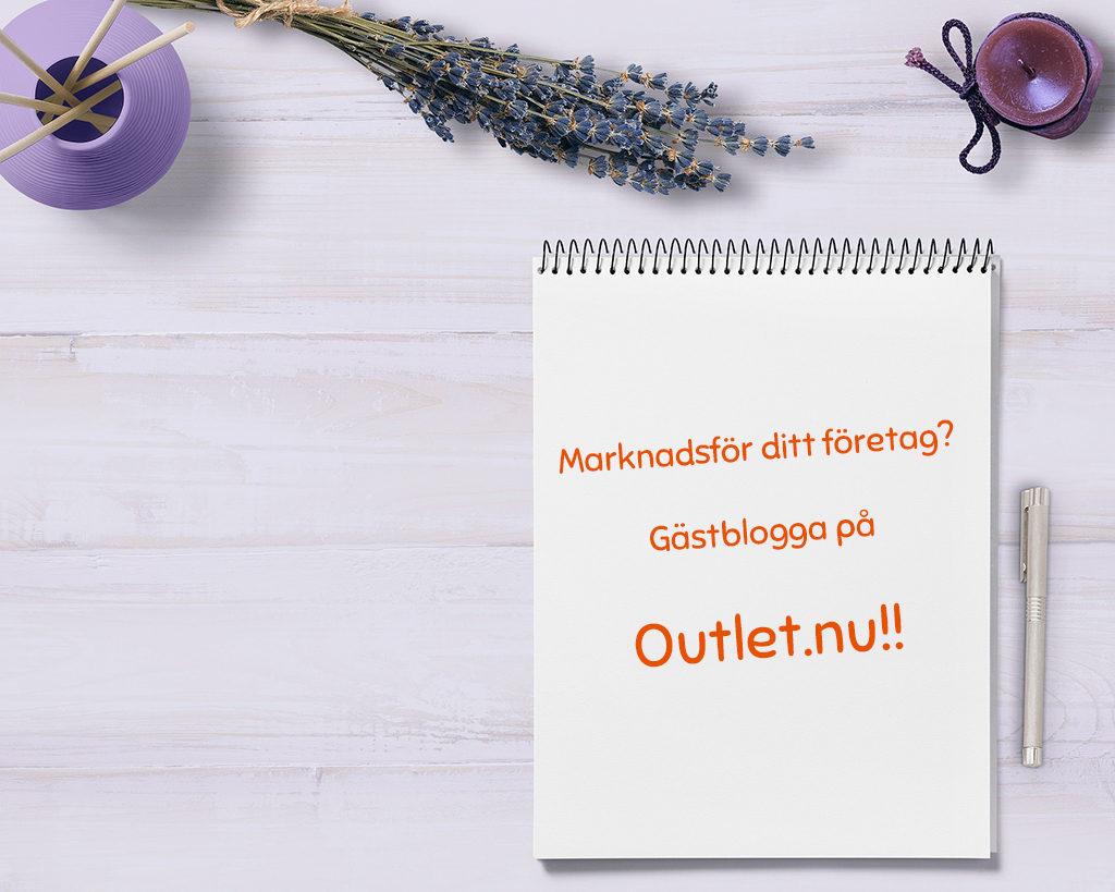 Gästblogga på Outlet.nu